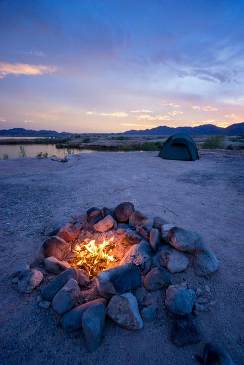 Lake Mohave Camping